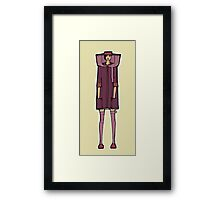 fashion  rectangle Framed Print