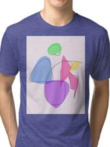 Human Body Tri-blend T-Shirt