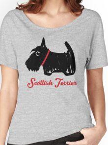 Scottish Terrier  Women's Relaxed Fit T-Shirt