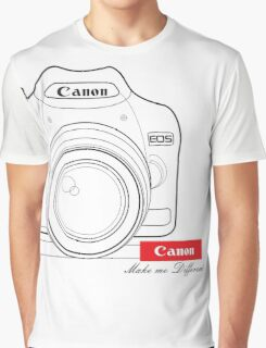 Canon Make Me Different Graphic T-Shirt