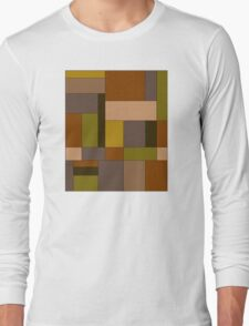 Abstract #370 Long Sleeve T-Shirt