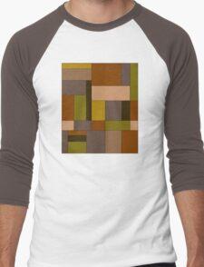 Abstract #370 Men's Baseball ¾ T-Shirt