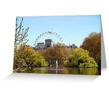 St James's Park London Greeting Card