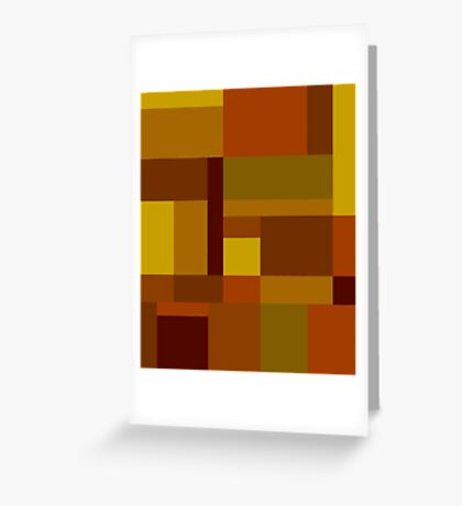 Abstract #385 Greeting Card