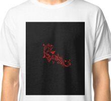 """""""Butterflies - red"""" Art Deco Classic T-Shirt"""