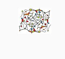 Multicolour Geometric Unisex T-Shirt