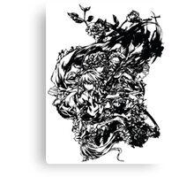 Manga fantasy (transparent version) Canvas Print