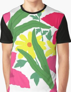 Floral Chorus Graphic T-Shirt
