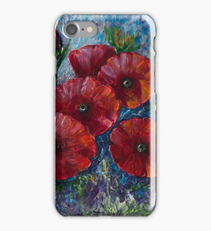 """Bella Fresca"" Poppies iPhone Case/Skin"