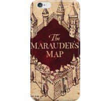 The marauder's map! iPhone Case/Skin