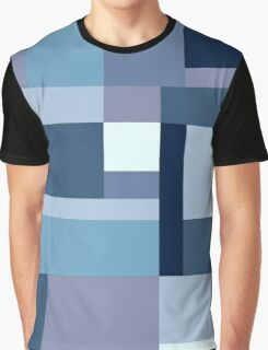 Abstract #387 Blue Harmony Graphic T-Shirt