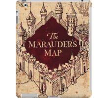 The marauder's map! iPad Case/Skin