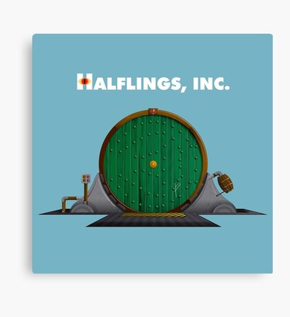 Halflings, Inc. Canvas Print