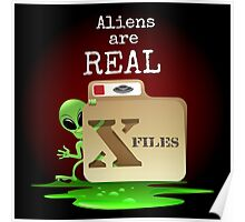 Aliens are Real Poster