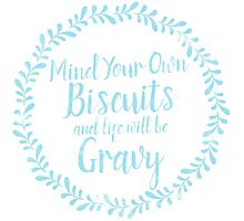 Biscuits Photographic Print