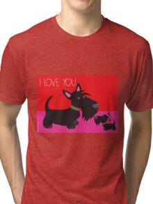 I Love You – Scottie Tri-blend T-Shirt