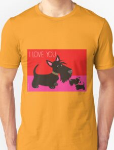 I Love You – Scottie Unisex T-Shirt