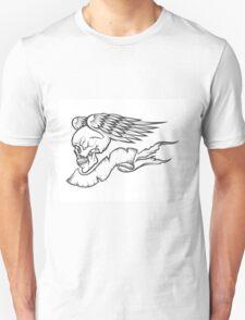 Winged Skull Unisex T-Shirt