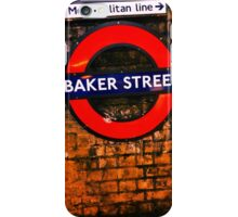Baker Street London- Sherlock  iPhone Case/Skin