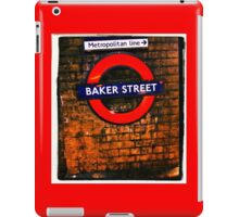 Baker Street London- Sherlock  iPad Case/Skin