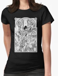 Graphics 005 Womens Fitted T-Shirt
