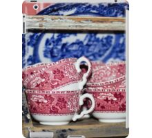 Oldfashioned Tableware - Macro Photography iPad Case/Skin