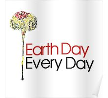 Earth Day Every Day  Poster