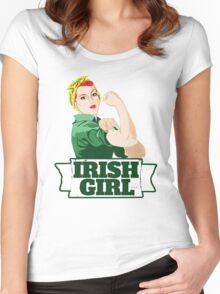 Irish Girl Women's Fitted Scoop T-Shirt