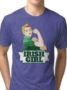Irish Girl Tri-blend T-Shirt