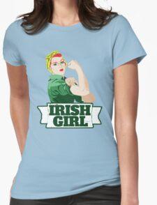 Irish Girl Womens Fitted T-Shirt