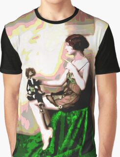 Retro Art - Psychedelic Puppet Graphic T-Shirt