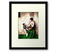 Retro Art - Psychedelic Puppet Framed Print