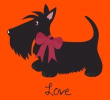 Love Scottie Dog Kids Tee