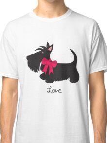 Love Scottie Dog Classic T-Shirt