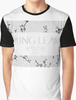 Yung Lean Sakura trees Graphic T-Shirt