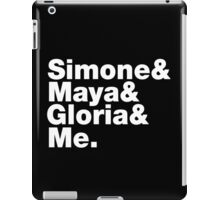 Feminist Greats List iPad Case/Skin