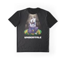 Undertale Toriel and Frisk Hugs Eachother Graphic T-Shirt
