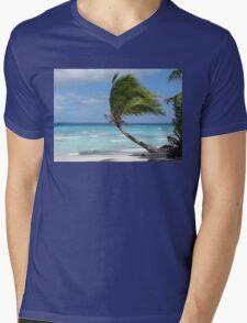 Against The Winds Mens V-Neck T-Shirt