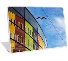 Seagull in the City - Travelling Photography Laptop Skin