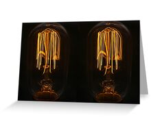 Bulbs Greeting Card