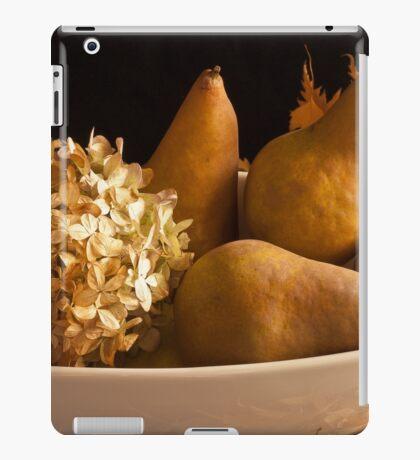 Pears And Hydrangea Still Life  iPad Case/Skin