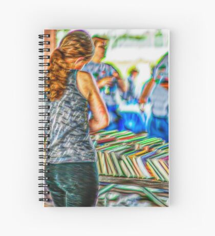 Reading Choices Spiral Notebook
