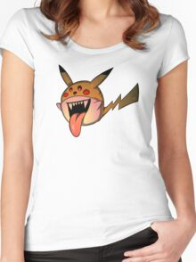 PikaBoo! Women's Fitted Scoop T-Shirt