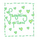 Fangirling Pillow by thescudders