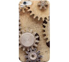 Macro Steampunk watch parts #2 iPhone Case/Skin
