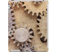 Macro Steampunk watch parts #2 iPad Case/Skin