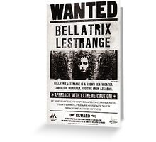 Bellatrix! Greeting Card