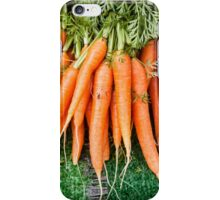 A bunch of carrots iPhone Case/Skin