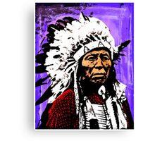 Chief Flying Hawk Canvas Print