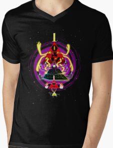 Evolution of Bill Mens V-Neck T-Shirt